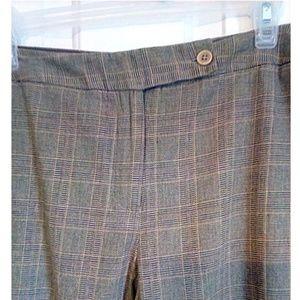 CATO Lightweight Menswear Plaid Career Pants 16